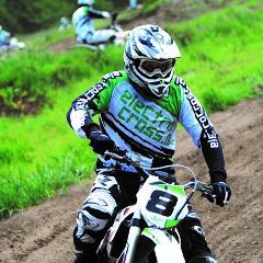 Elektrisch motorcrossen vrijgezellenfeest