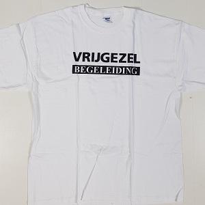 T-shirts voor de begeleiding van de vrijgezel. Heb je binnenkort een vrijgezellenfeest? Dan is het natuurlijk wel zo leuk om te laten zien wie bij het vrijgezellenfeest team is. Trek daarom dit shirt aan.