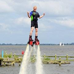 flyboarden friesland vrijgezellenfeest
